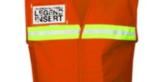 ML Kishigo 4707 International Orange Incident Command Vest
