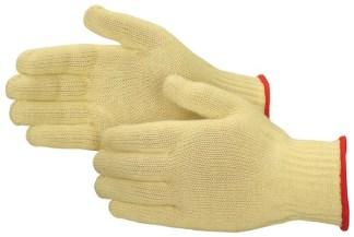 4817Q Standard Weight 100% Kevlar Cut Resistant Gloves, Dozen