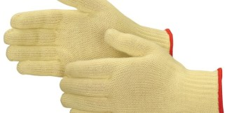 4817Q Standard Weight 100% Kevlar Cut Resistant Gloves, Dozen