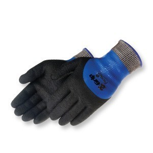 Liberty Gloves 4925 Z-Grip 13-Gauge Fully Coated Black Nitrile Glove, Dozen