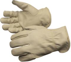 Liberty 6108 Premium Grain Cowhide Leather Driver Glove with Keystone Thumb