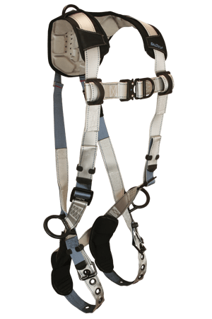 FlowTech 7091FD Climbing 4-D Full Body Harness Non-belted