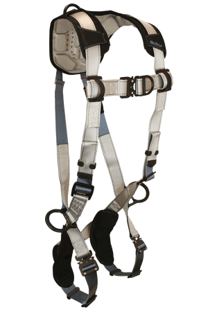 FlowTech 7092FD Climbing 4-D Full Body Harness Non-belted