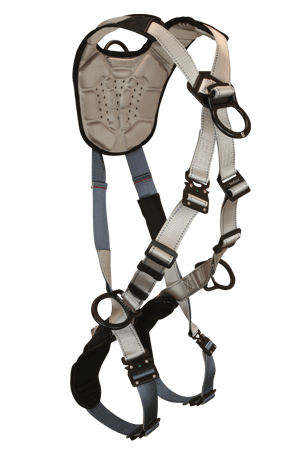 FlowTech 7098 Climbing 4-D Full Body Harness Cross-over Quick Connect