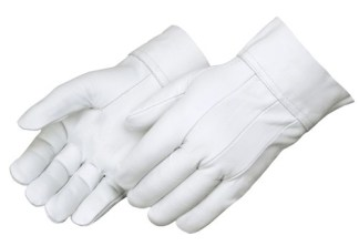 Liberty Gloves 7810 Premium Grain Goatskin Clute Pattern TIG Welder Gloves, Dozen