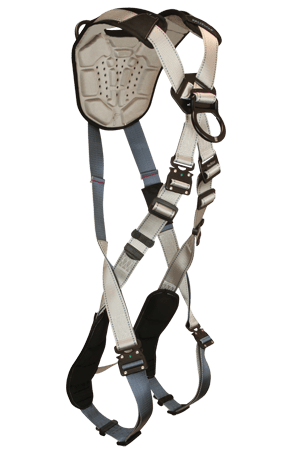 Flowtech 8095 Climbing 2-D Full Body Harness Cross-over Tongue Buckle Legs