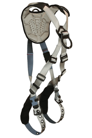 Flowtech 8096 Climbing 2-D Full Body Harness Cross-over Tongue Buckle Legs