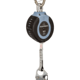 FallTech 82710SC1 10ft Compact Web SRD Steel Carabiner+Steel Snap Hook