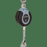 FallTech 82710SG4 10ft Compact Web SRD Alum Carabiner+Alum Snap Hook