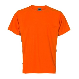 ML Kishigo 9201 Premium Black Series Hi Viz Orange T-Shirt