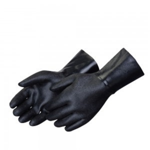 Liberty Gloves 9544 Rough Finish Black Neoprene 14in Gauntlet Glove, Dozen