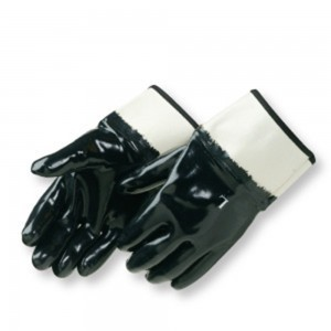 Liberty Gloves 9560 Black Neoprene with Safety Cuff Glove, Dozen