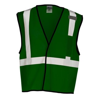 ML Kishigo B123 Enhanced Visibility Green Mesh Vest