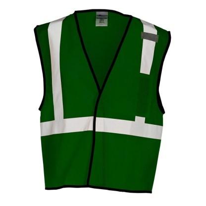ML Kishigo B123 Enhanced Visibility Green Mesh Vest