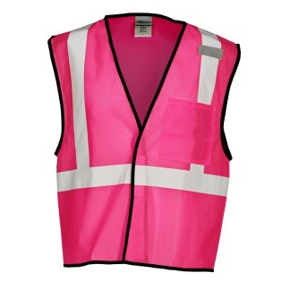 ML Kishigo B126 Enhanced Visibility Pink Mesh Vest