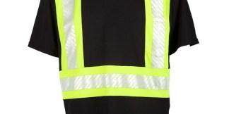ML Kishigo B200 Enhanced Visibility Contrast T-Shirt