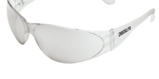 CL119 Checklite Safety Glasses Indoor/Outdoor Clear Mirror Lens