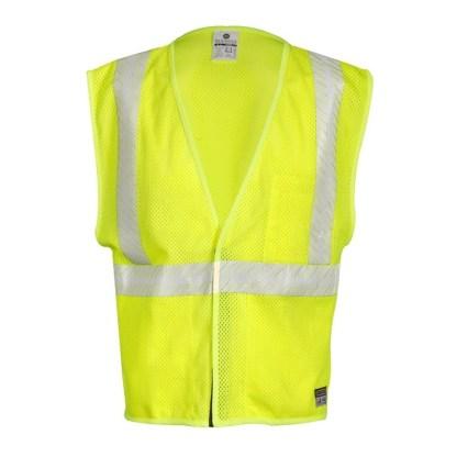 ML Kishigo FM389 FR Breathable Lime Mesh Vest