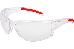 HK110AF Hellkat Clear Anti-Fog Lens Safety Glasses