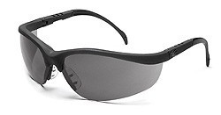 MCR  KD112AF Klondike Anti-Fog Gray Lens Safety Glasses