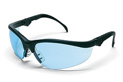 MCR KD113 Klondike Blue Lens Safety Glasses