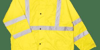ML Kishigo RW110 Class 3 Lime Rainsuit