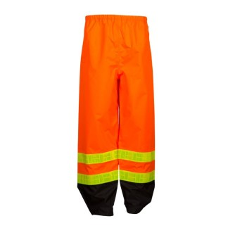 ML Kishigo RWP101 Storm Stopper Pro Class E Orange Rainwear Pants