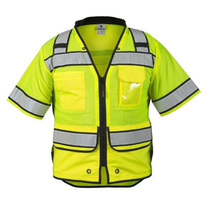 ML Kishigo S5014 High Performance Surveyors Lime Vest