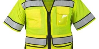 ML Kishigo S5014 High Performance Surveyors Lime Vest