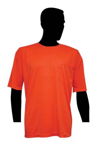 High Visibility Fluorescent Orange T-Shirt