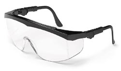 MCR TK110AF Tomahawk Clear Anti-Fog Lens Safety Glasses
