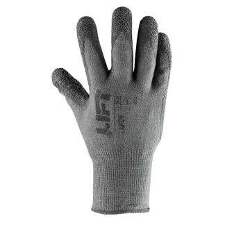 Thermal Tac GPO-12K Gray Latex Coated Palm Glove, Pair