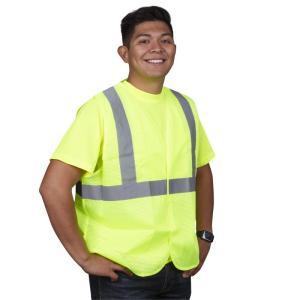 Cordova V211P Lime Class 2 Safety Vest