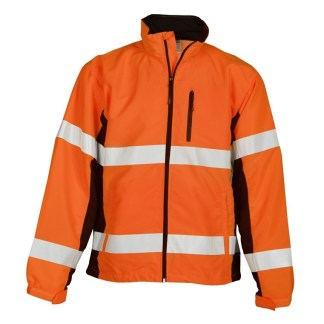 ML Kishigo WB101 Class 3 Orange Black Series Windbreaker