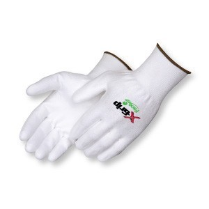 Liberty Gloves A4940 X-Grip White Polyurethane Palm Coated Glove, Dozen