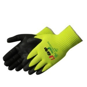 Liberty Gloves F4910HG U-Grip HPPE Steel Core Nylon/Polyester with Micro Foam Coated Palm, Dozen
