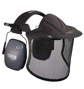 Garden Kit - Mesh face shield w/ visor