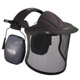 Garden Kit - Garden kit w/ mesh visor & face shield