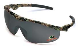 Mossy Oak Safety Glasses - Mossy Oak w/ ratchet frame