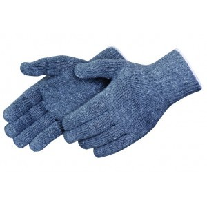 P4527G Heavey Gray Cotton/Polyester String Knit Gloves, Dozen