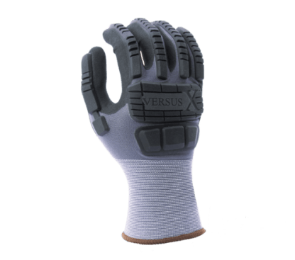 VS2260X 15 Gauge Lightweight Nylon Shell, Super-Foam Nitrile Coated, TPR Back of Hand