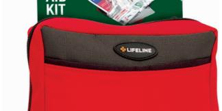 LifeLine Wilderness First Aid Kit 110 Piece