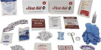 Prostat 0796A 10 Person Class A Type III Plastic First Aid Kit