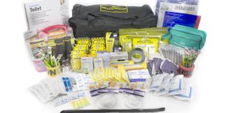MayDay 13078 Deluxe Office Emergency Kit on Wheels (10 Person)