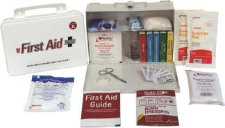 ANSI 2015 Class A Plastic First Aid Kit, 25 Person