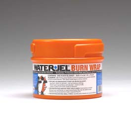 Water-Jel Technologies 3630-04 Burn Wrap in Canister, 3' x 2.5'
