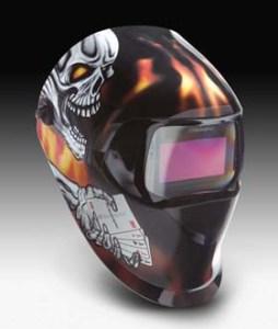 3M Speedglas 100 Welding Helmets with Variable Shade Filters - 3M Speedglas Aces High Helmet 100