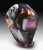 3M Speedglas 100 Welding Helmets with Variable Shade Filters - 3M Speedglas Aces High Helmet 100