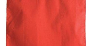 ML Kishigo CI-5971 Red Cotton Overhang Warning Flag