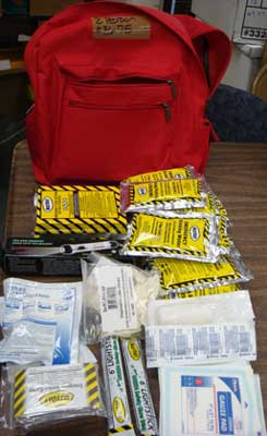 Equipment Direct Basic 4 Person 3 Day Emergency Survival Back Pack